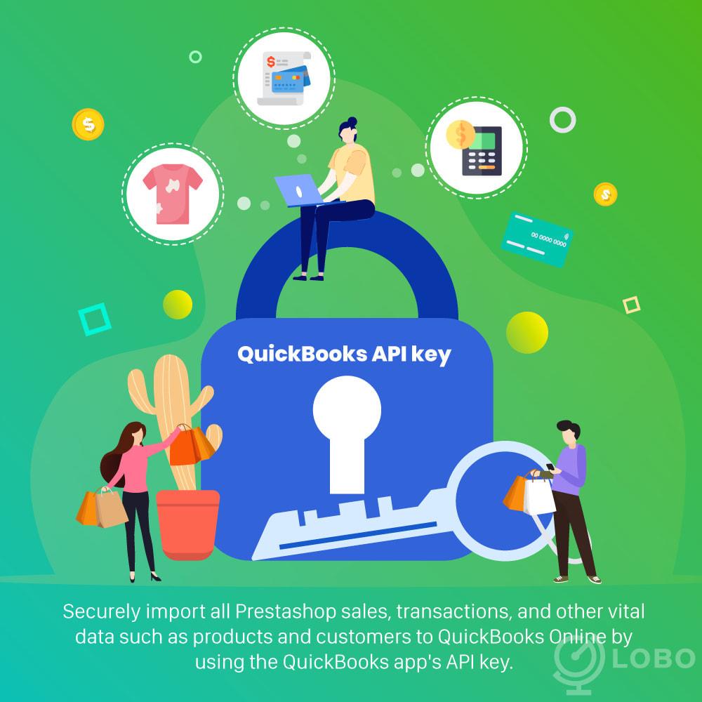 module - Connexion à un logiciel tiers (CRM, ERP...) - QuickBooks Connector PRO - Quickbooks Online Connector - 1