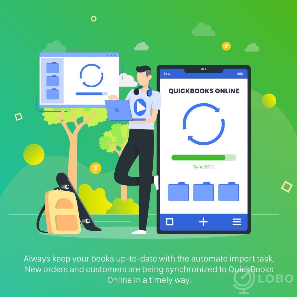module - Connexion à un logiciel tiers (CRM, ERP...) - QuickBooks Connector PRO - Quickbooks Online Connector - 2