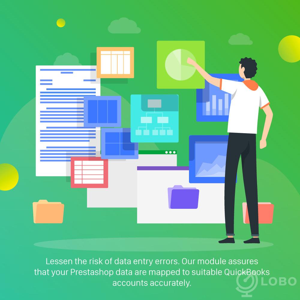 module - Connexion à un logiciel tiers (CRM, ERP...) - QuickBooks Connector PRO - Quickbooks Online Connector - 3