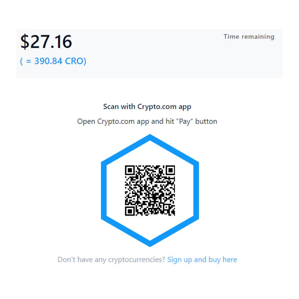 module - Altri Metodi di Pagamento - Crypto.com Pay: Accept payments in cryptocurrencies - 4