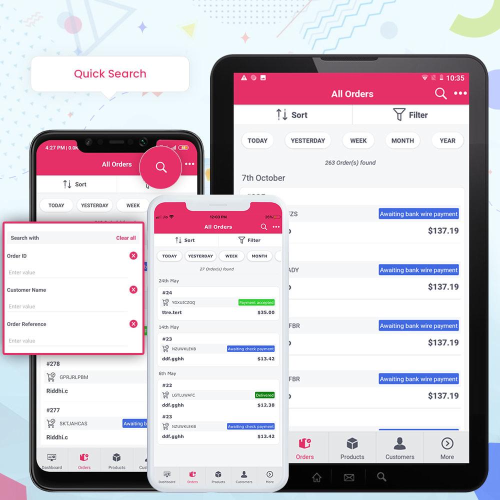 module - Mobiele apparaten - FE Presta Admin App - Easy to Manage Store Admin - 14