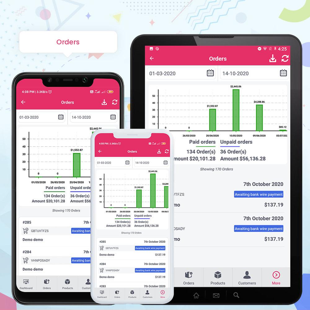 module - Mobiele apparaten - FE Presta Admin App - Easy to Manage Store Admin - 22