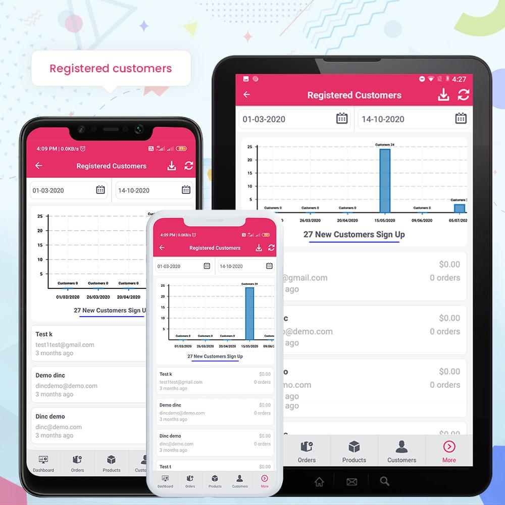module - Mobiele apparaten - FE Presta Admin App - Easy to Manage Store Admin - 23