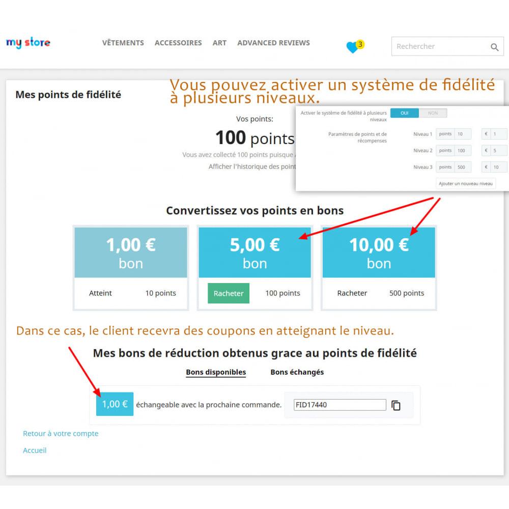 module - Fidélisation & Parrainage - Points de fidélité avancés - 2