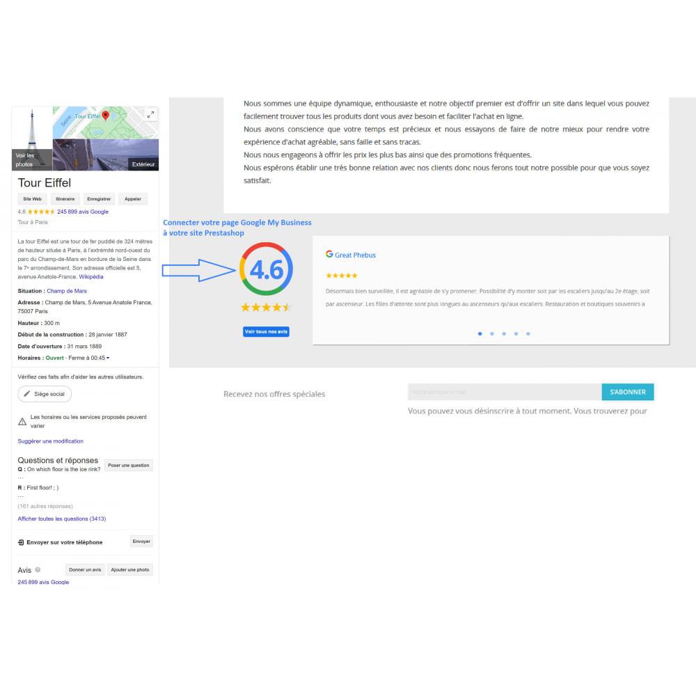 module - Avis clients - Avis Google My Business - 1