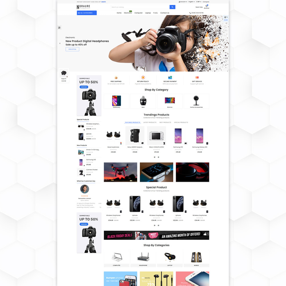 theme - Electronique & High Tech - Noraure Electronic Store - 2