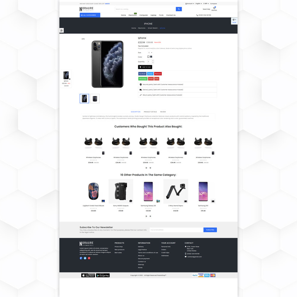 theme - Electronique & High Tech - Noraure Electronic Store - 5