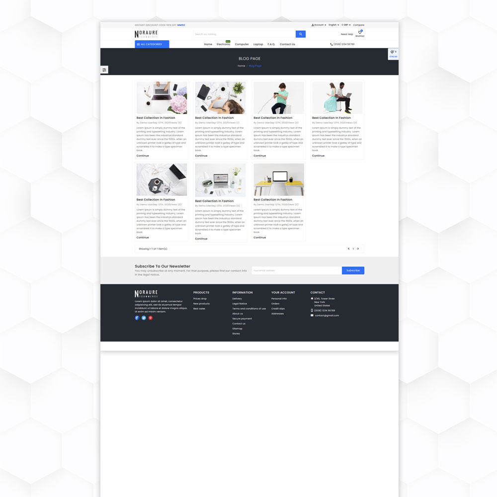 theme - Electronique & High Tech - Noraure Electronic Store - 10