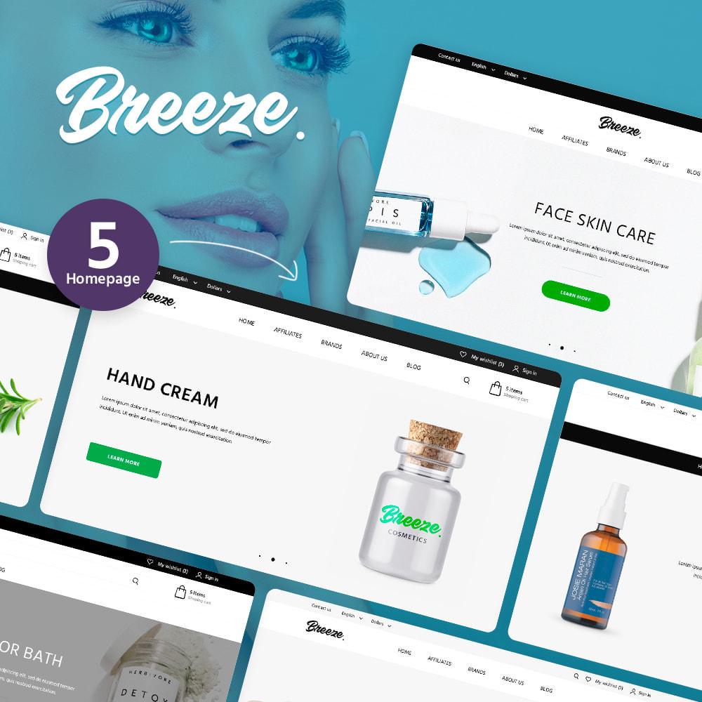 theme - Santé & Beauté - Breeze Cosmetics - 1