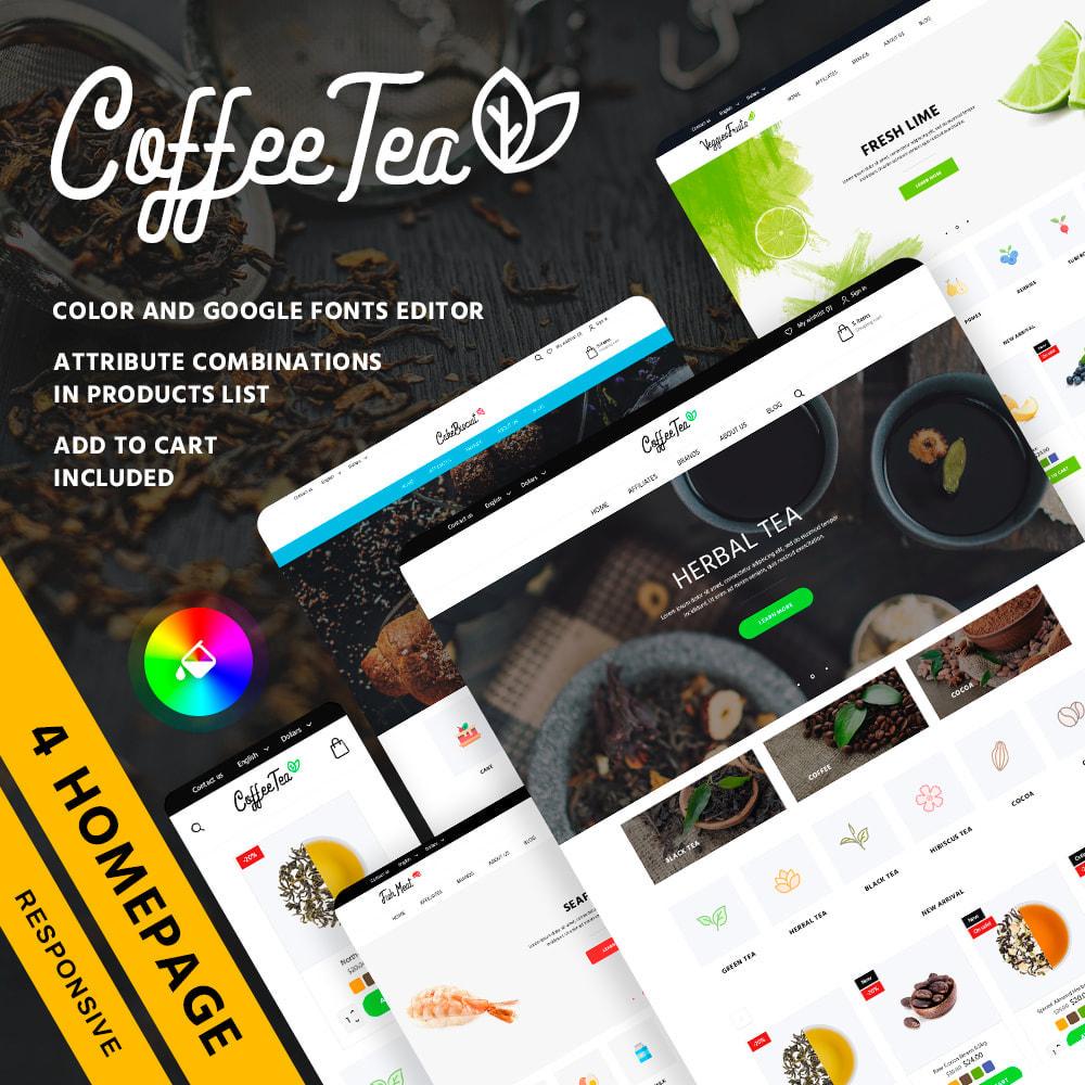 theme - Żywność & Restauracje - Coffee Tea - 1
