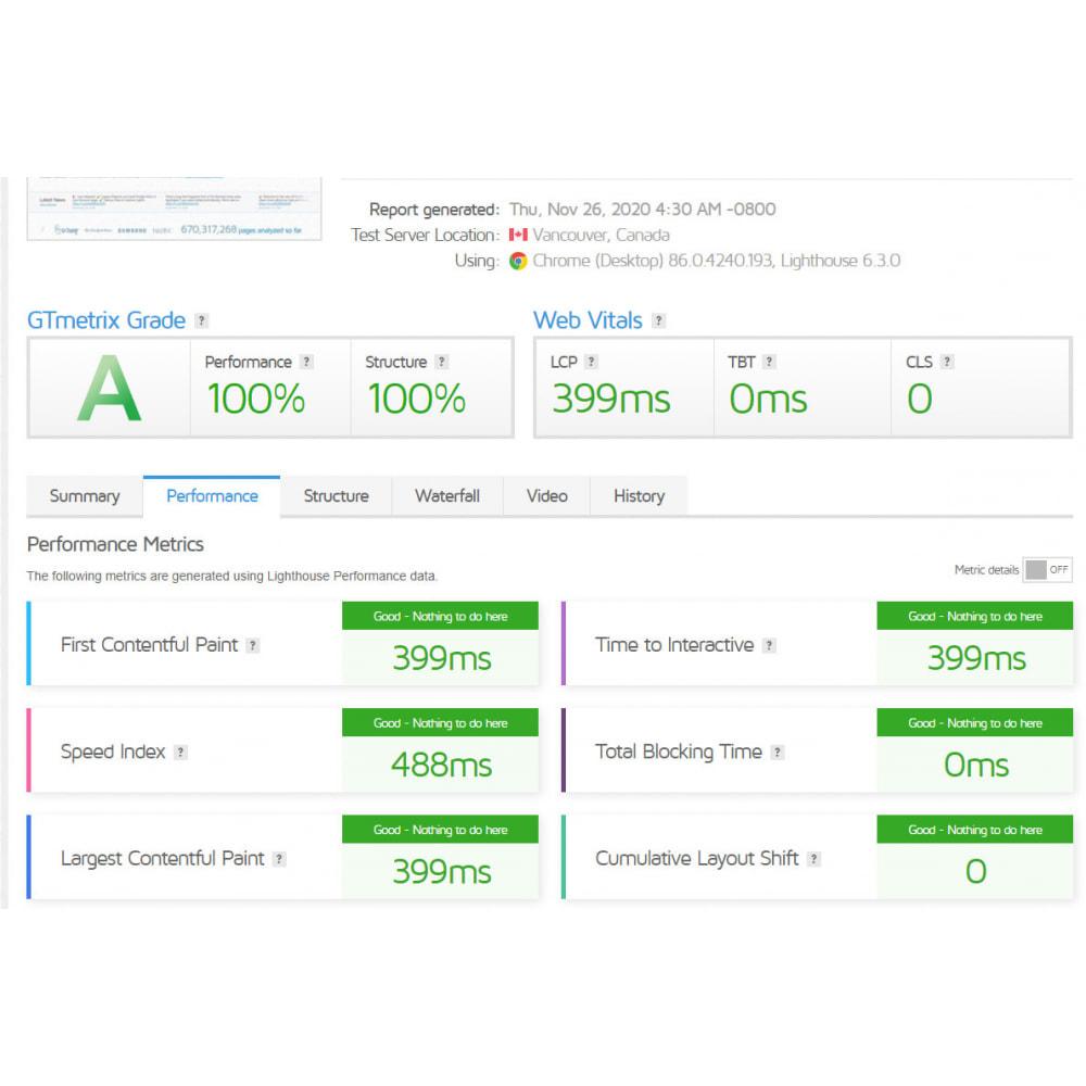 module - Rendimiento del sitio web - GTmetrix Pro  - Speed optimization - 3