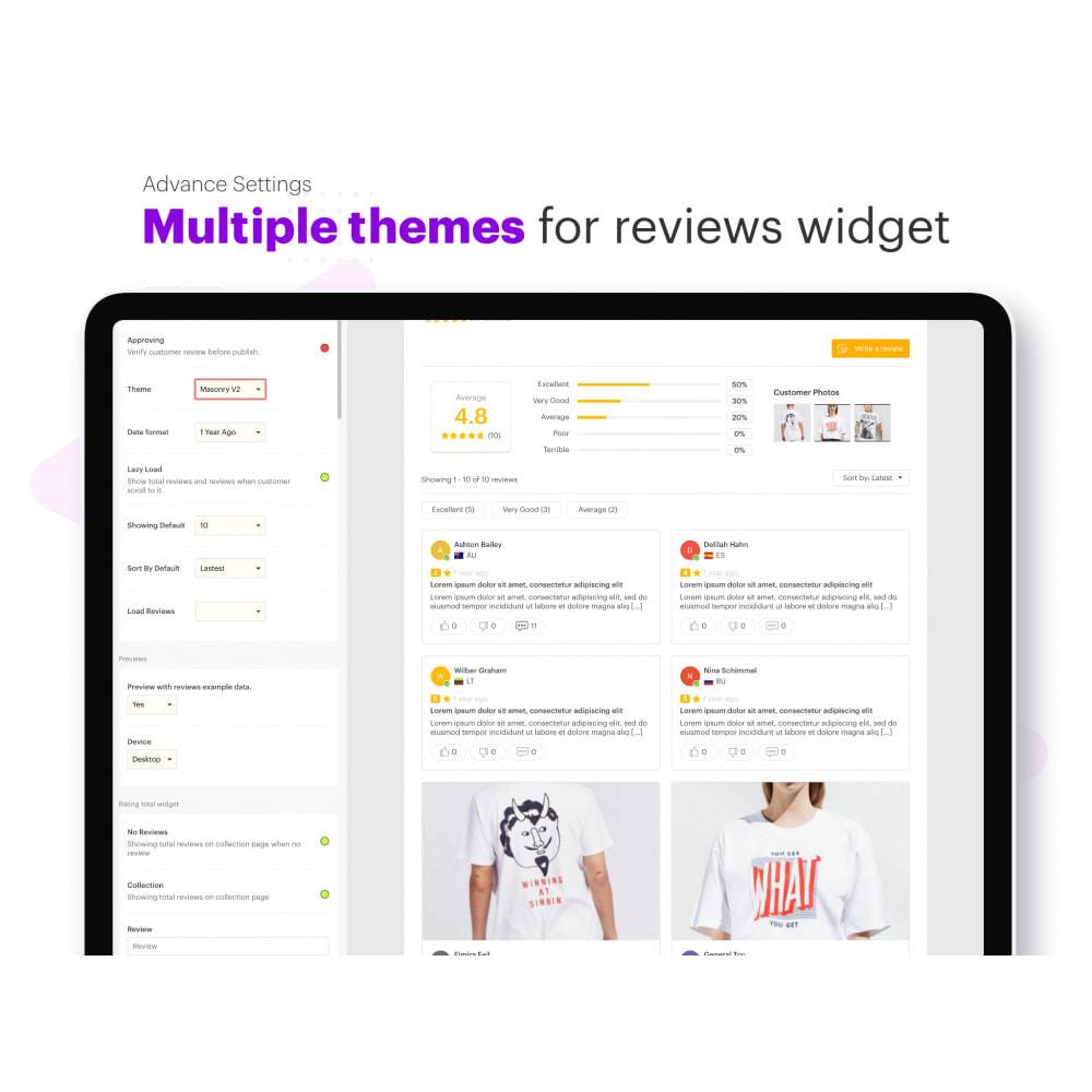 module - Customer Reviews - Ryviu Product Reviews App & QA - 5