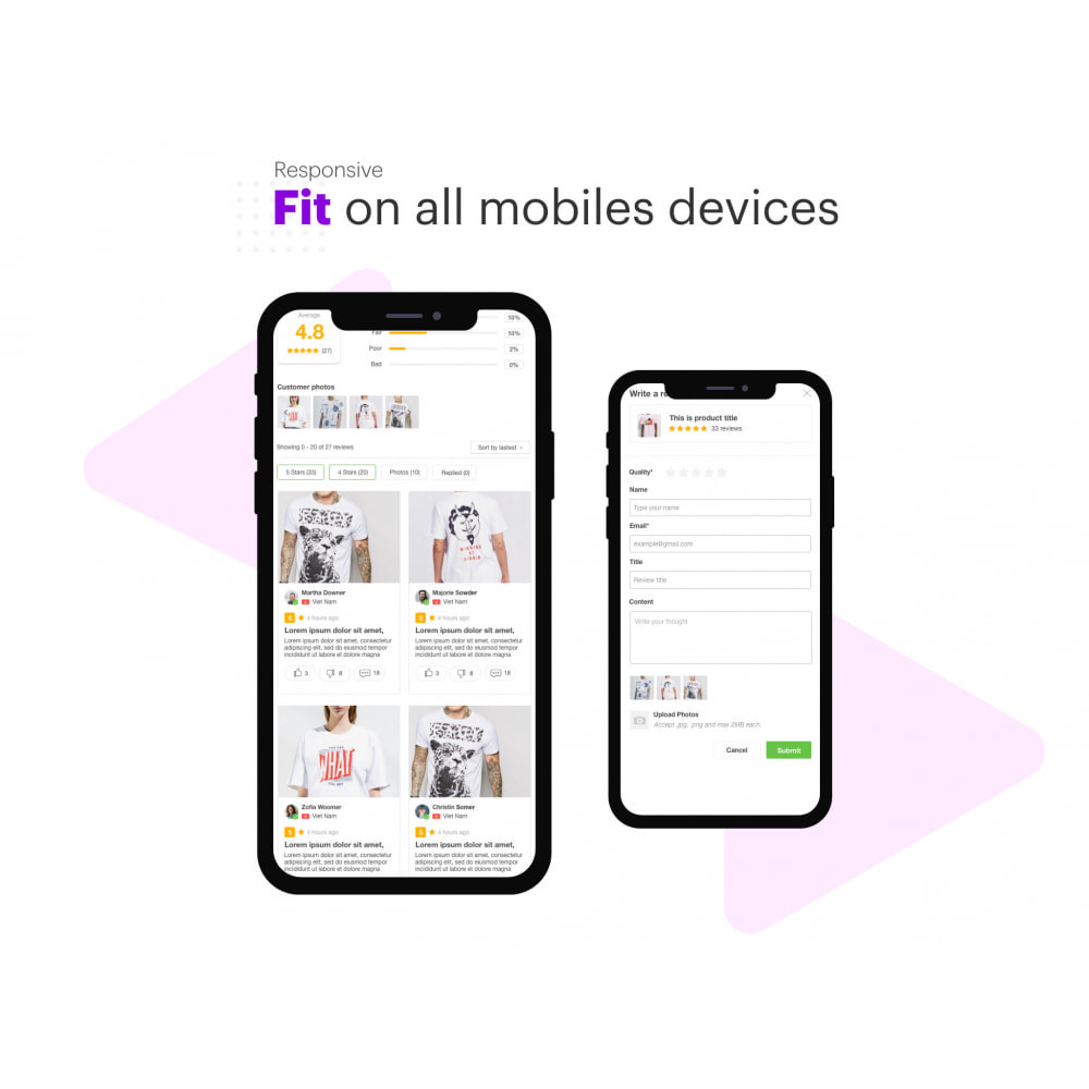 module - Customer Reviews - Ryviu Product Reviews App & QA - 6