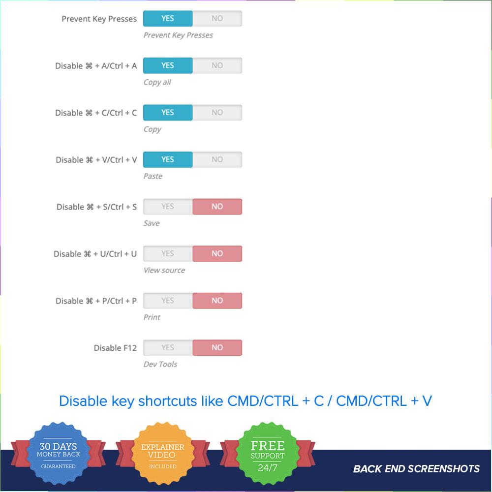 module - Seguridad y Accesos - Proteger el contenido PRO - 5
