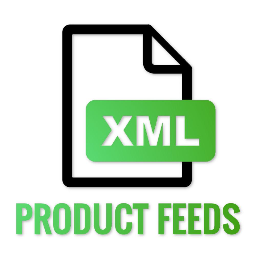 module - Импорт и Экспорт данных - XML Product feeds - 1
