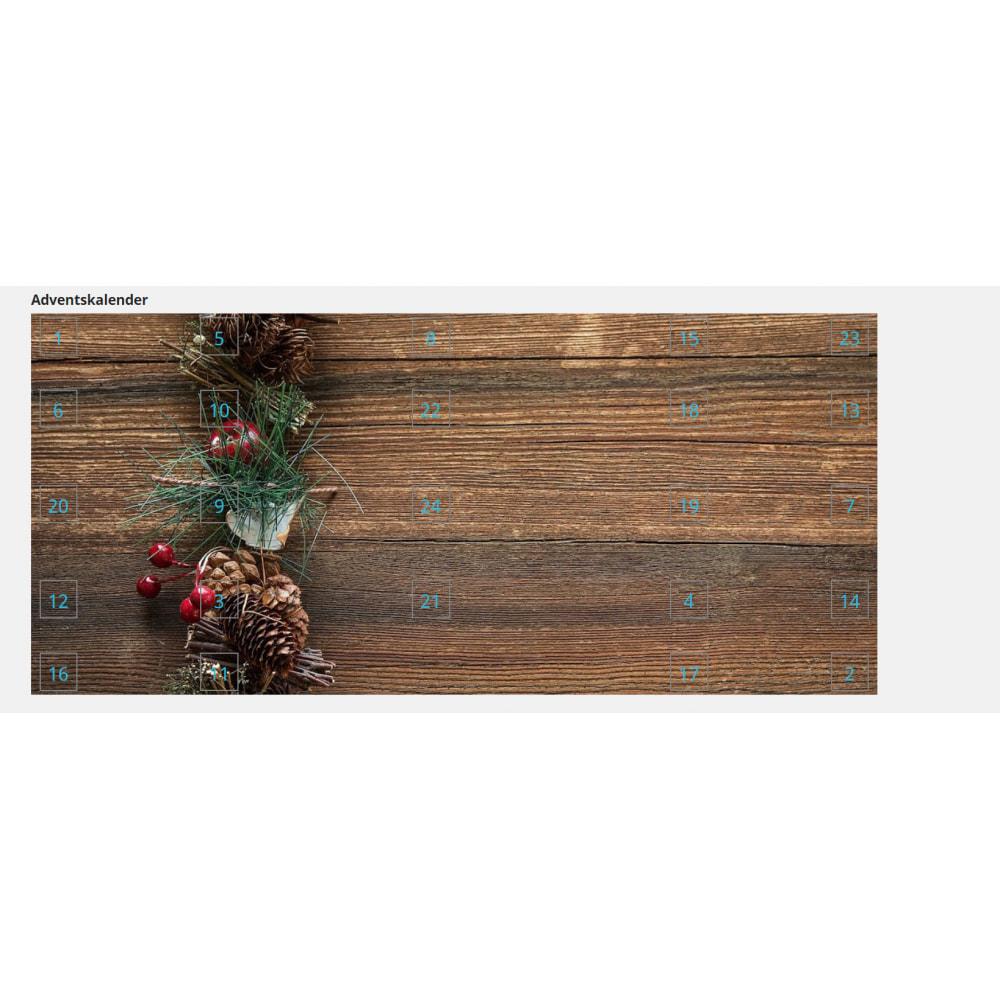 module - Personalização de página - Advent Calendar / Christmas Calendar / Santa Calendar - 8