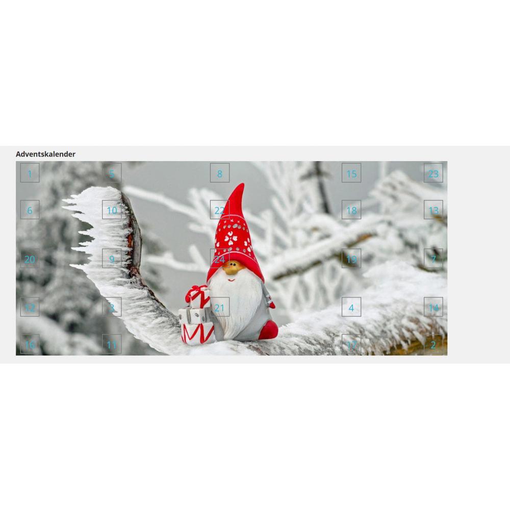 module - Personalização de página - Advent Calendar / Christmas Calendar / Santa Calendar - 12