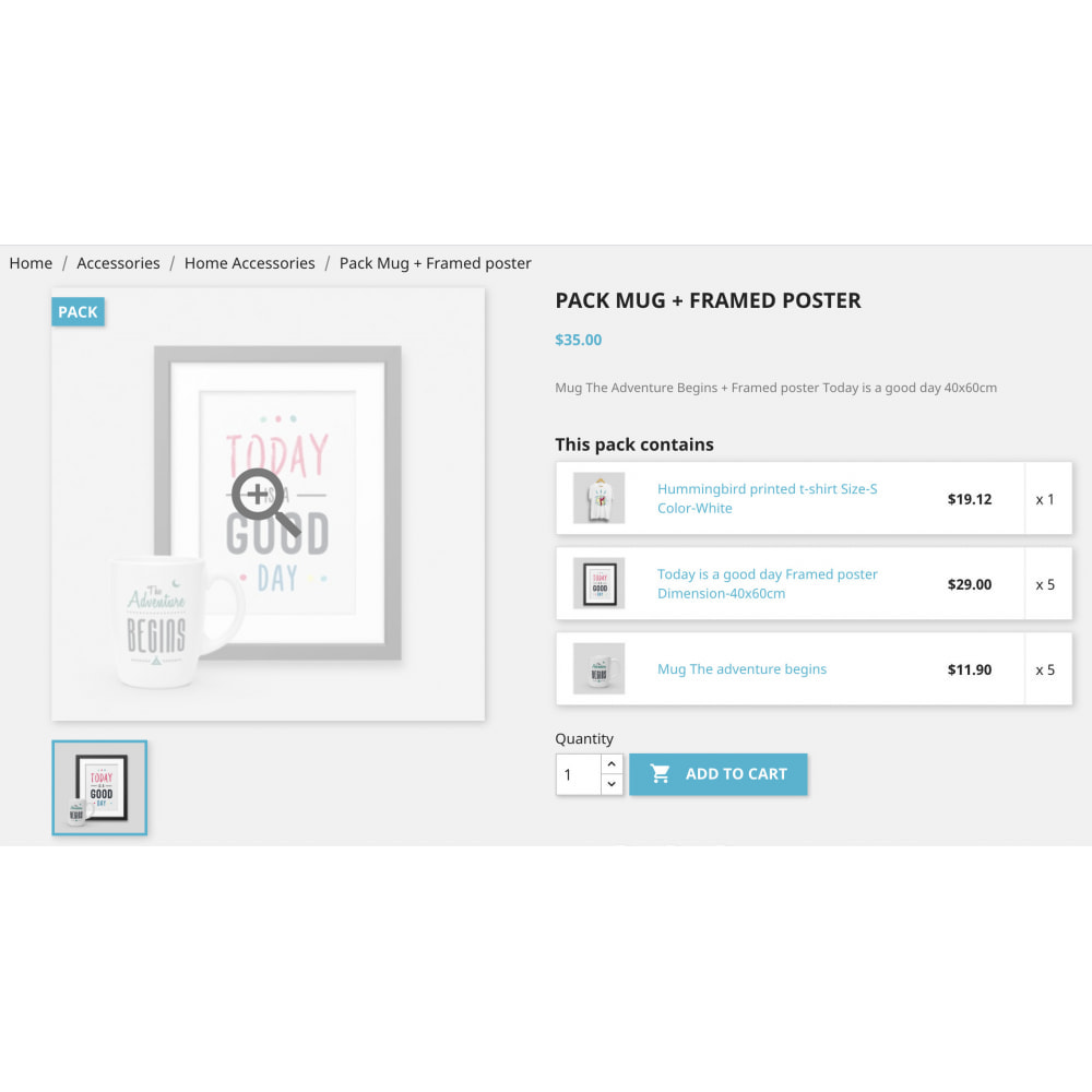 module - Bundels & Personalisierung - Product Bundle Pack|Add multiple products into the cart - 11