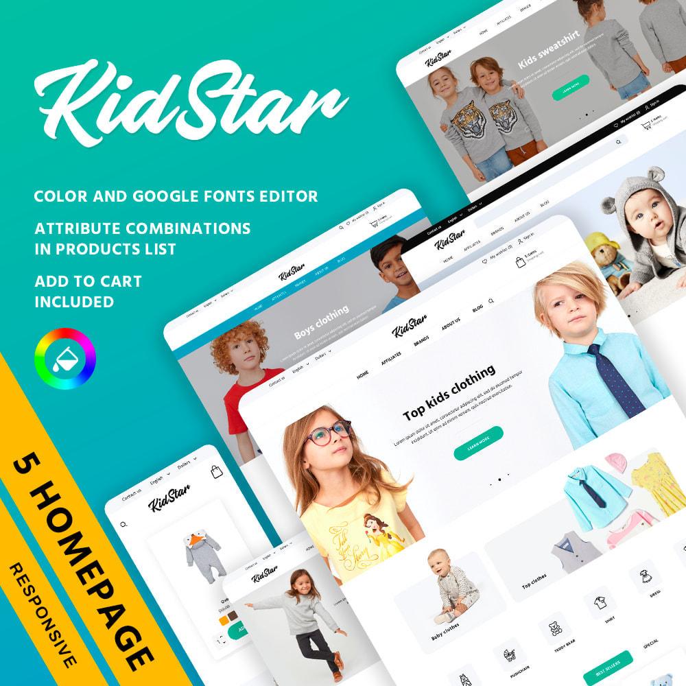 theme - Crianças & Brinquedos - KidStar - 1