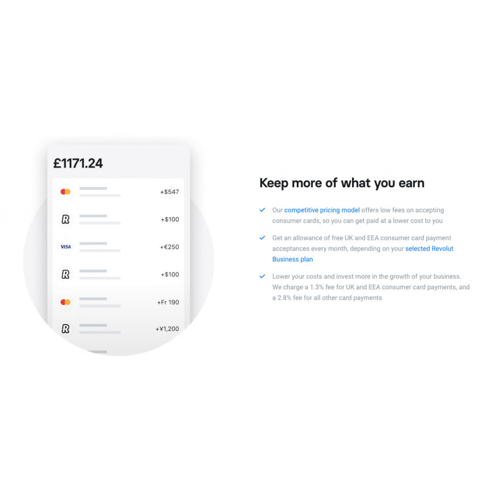 module - Оплата банковской картой или с помощью электронного кошелька - Revolut Gateway for Prestashop - 1