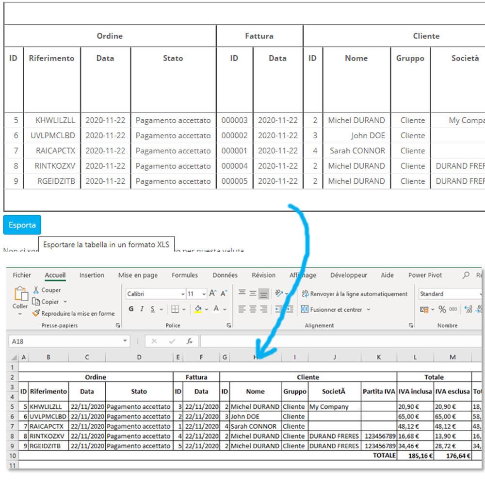 module - Contabilità & Fatturazione - Riepilogo contabilità con IVA - 14