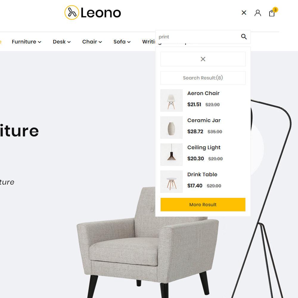 theme - Hogar y Jardín - Furni–Wood–Leono–Furniture Store - 8