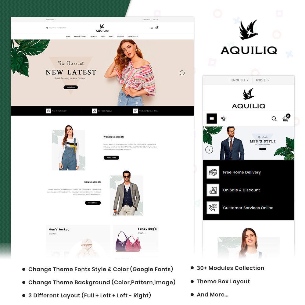 theme - Moda y Calzado - Aquiliq Style–Cloth Fashion Store - 1
