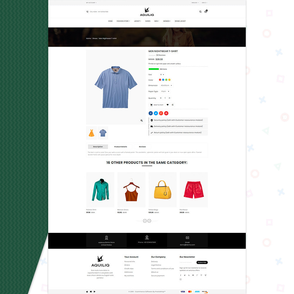 theme - Moda y Calzado - Aquiliq Style–Cloth Fashion Store - 4