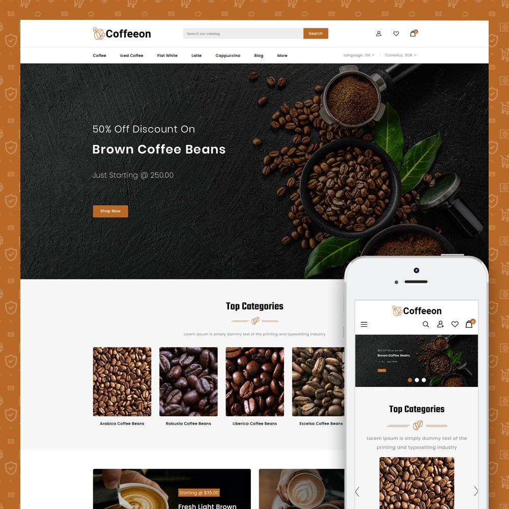 theme - Drink & Tobacco - Coffeeon - Coffee Store - 1