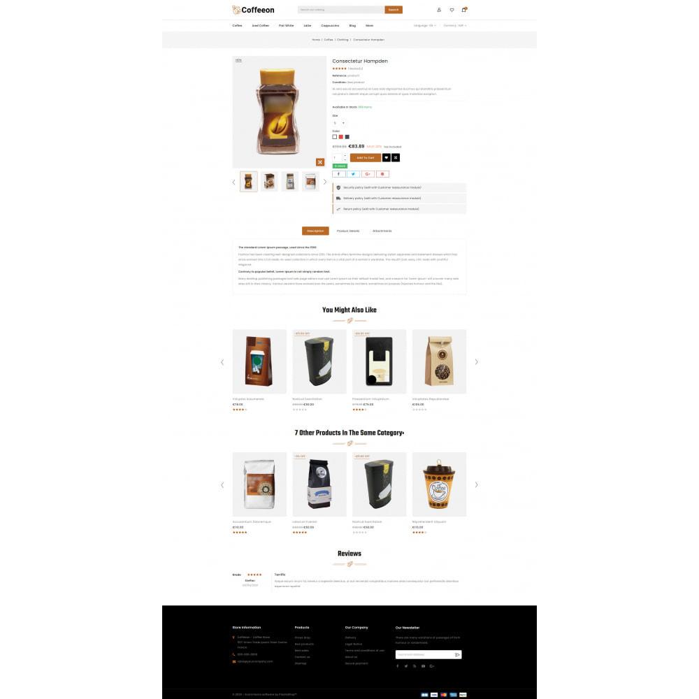 theme - Drink & Tobacco - Coffeeon - Coffee Store - 5