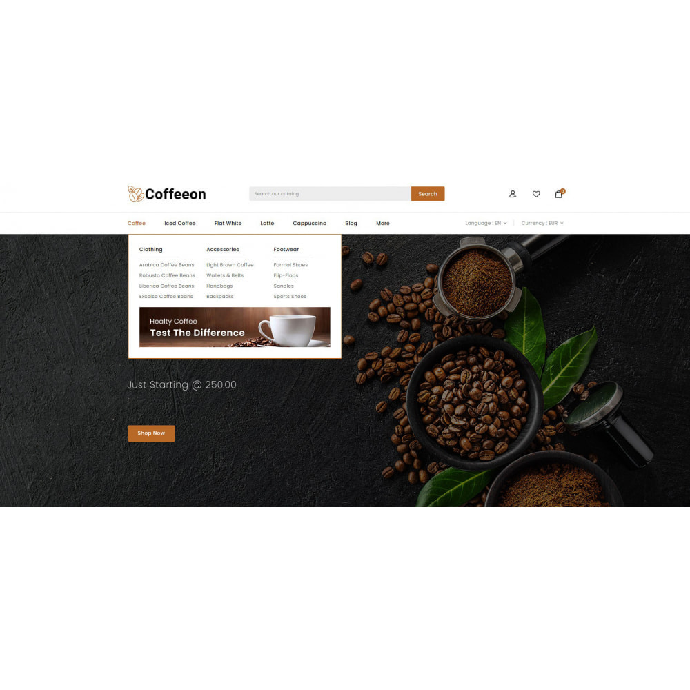 theme - Drink & Tobacco - Coffeeon - Coffee Store - 6