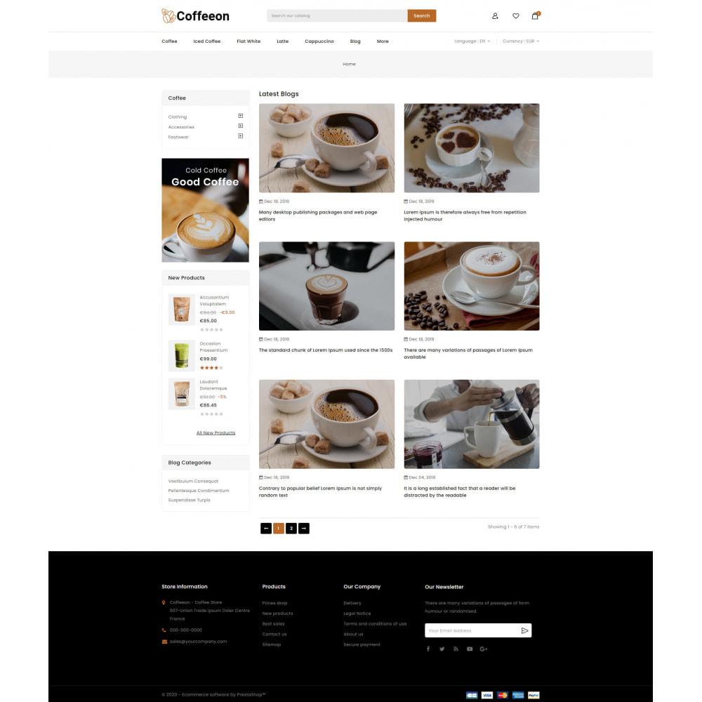 theme - Drink & Tobacco - Coffeeon - Coffee Store - 9