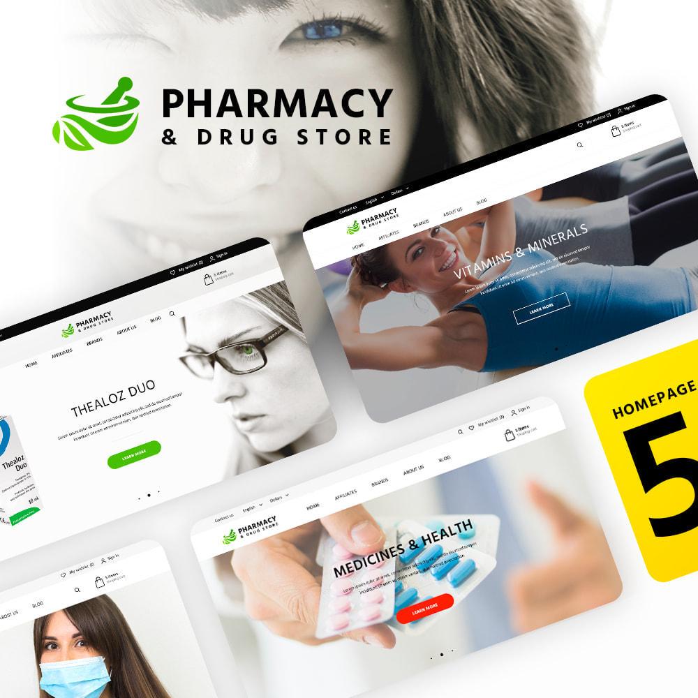 theme - Santé & Beauté - Pharmacy & Drug Store - 1