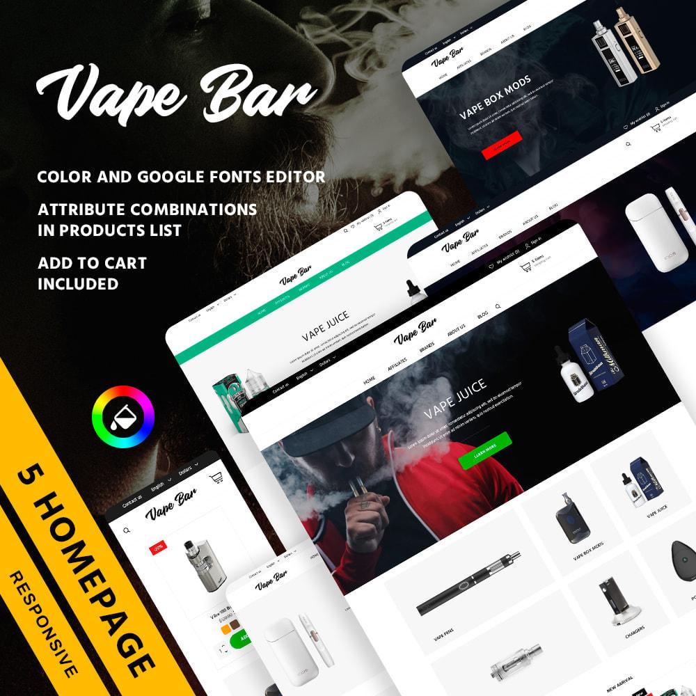 theme - Elektronika & High Tech - Vape Bar - 1