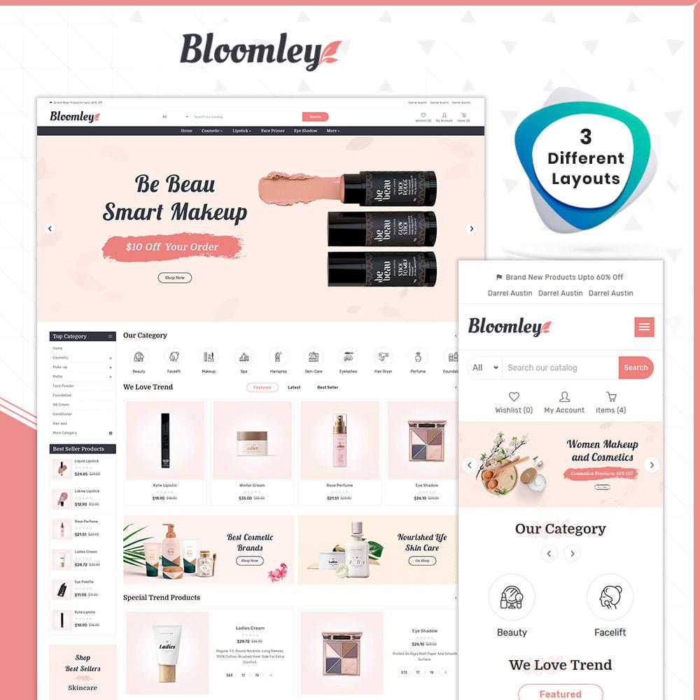 theme - Saúde & Beleza - Cosmatic Bloomley-Cosmatic Shop - 1