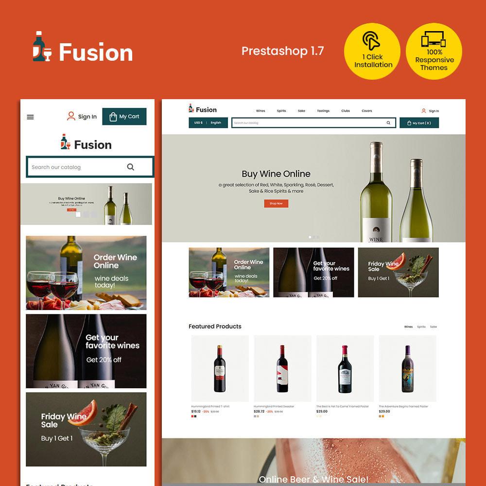 theme - Шаблоны PrestaShop - Fusion Wine - Computer Digital Drone Store - 1