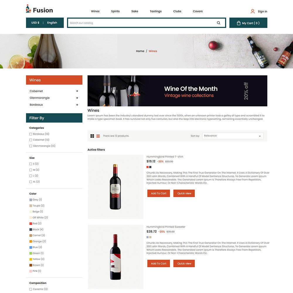 theme - Шаблоны PrestaShop - Fusion Wine - Computer Digital Drone Store - 4