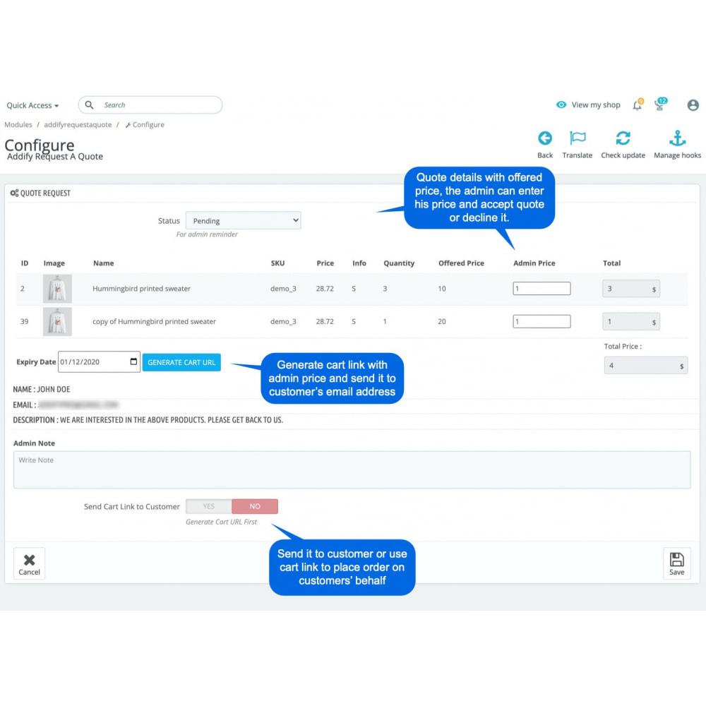 module - Расчет цены - Request A Quote - 8