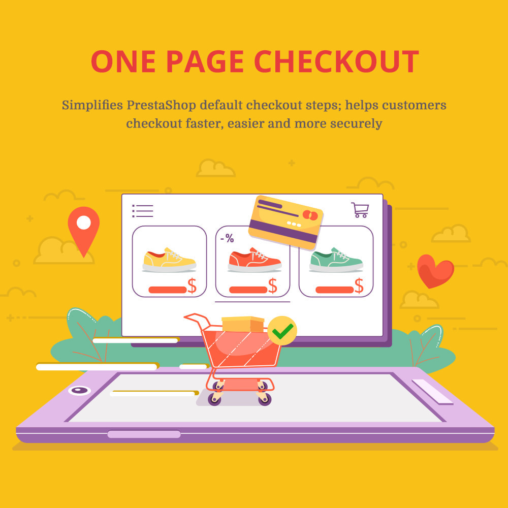 module - Express Checkout Prozesse - One Page Checkout - Fast, Intuitive & Professional - 1