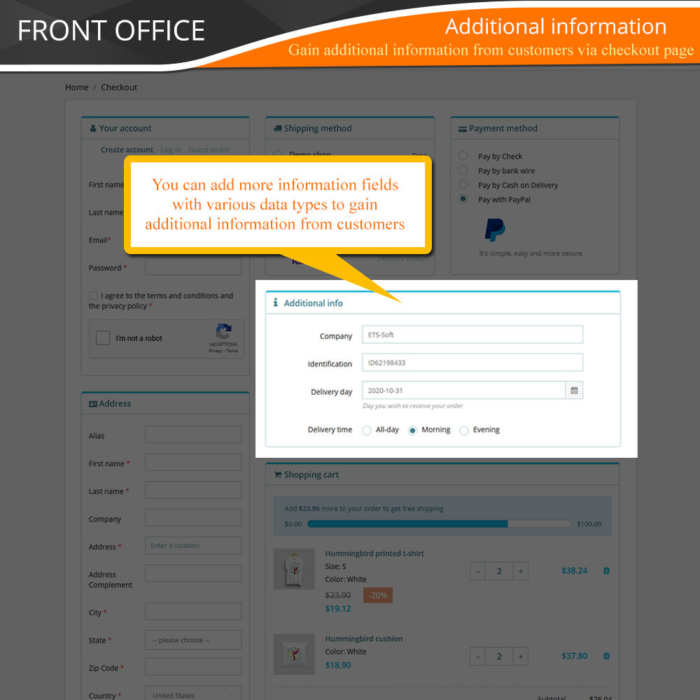 module - Express Checkout Prozesse - One Page Checkout - Fast, Intuitive & Professional - 10