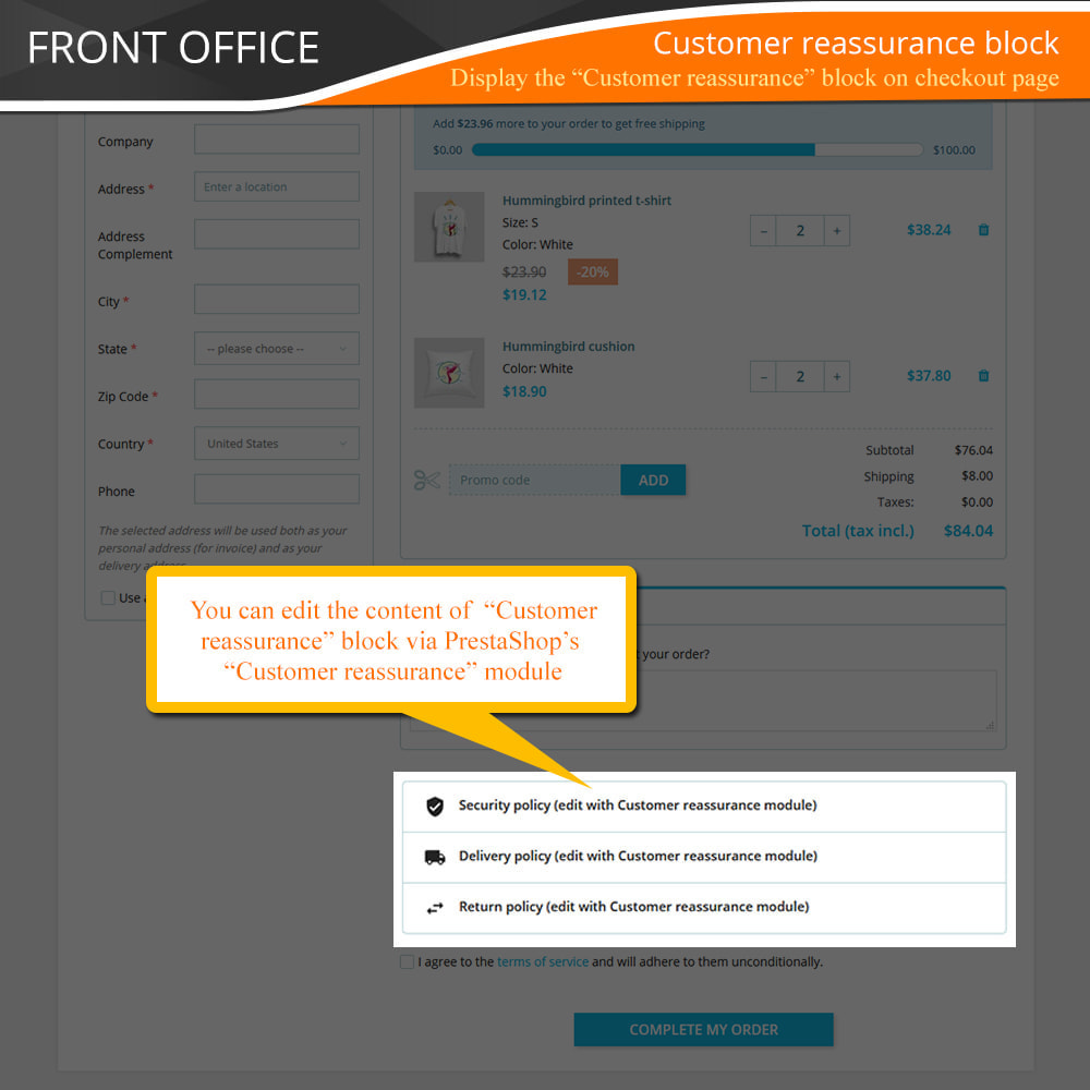 module - Express Checkout Prozesse - One Page Checkout - Fast, Intuitive & Professional - 11