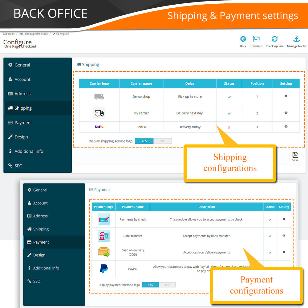 module - Express Checkout Prozesse - One Page Checkout - Fast, Intuitive & Professional - 15