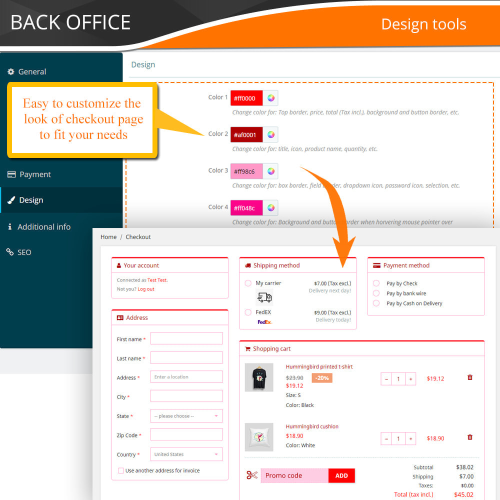 module - Express Checkout Prozesse - One Page Checkout - Fast, Intuitive & Professional - 16