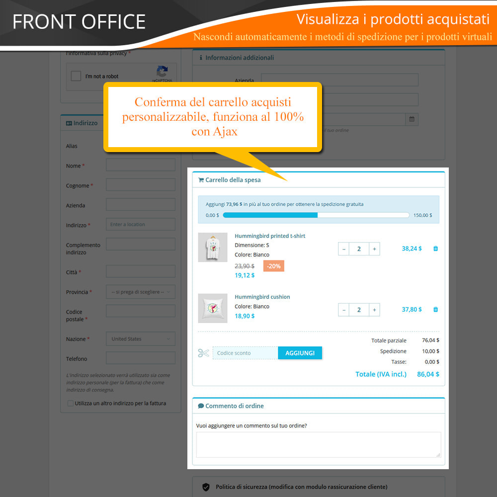 module - Express Checkout - ONE PAGE CHECKOUT - Veloce, Intuitivo & Professionale - 9