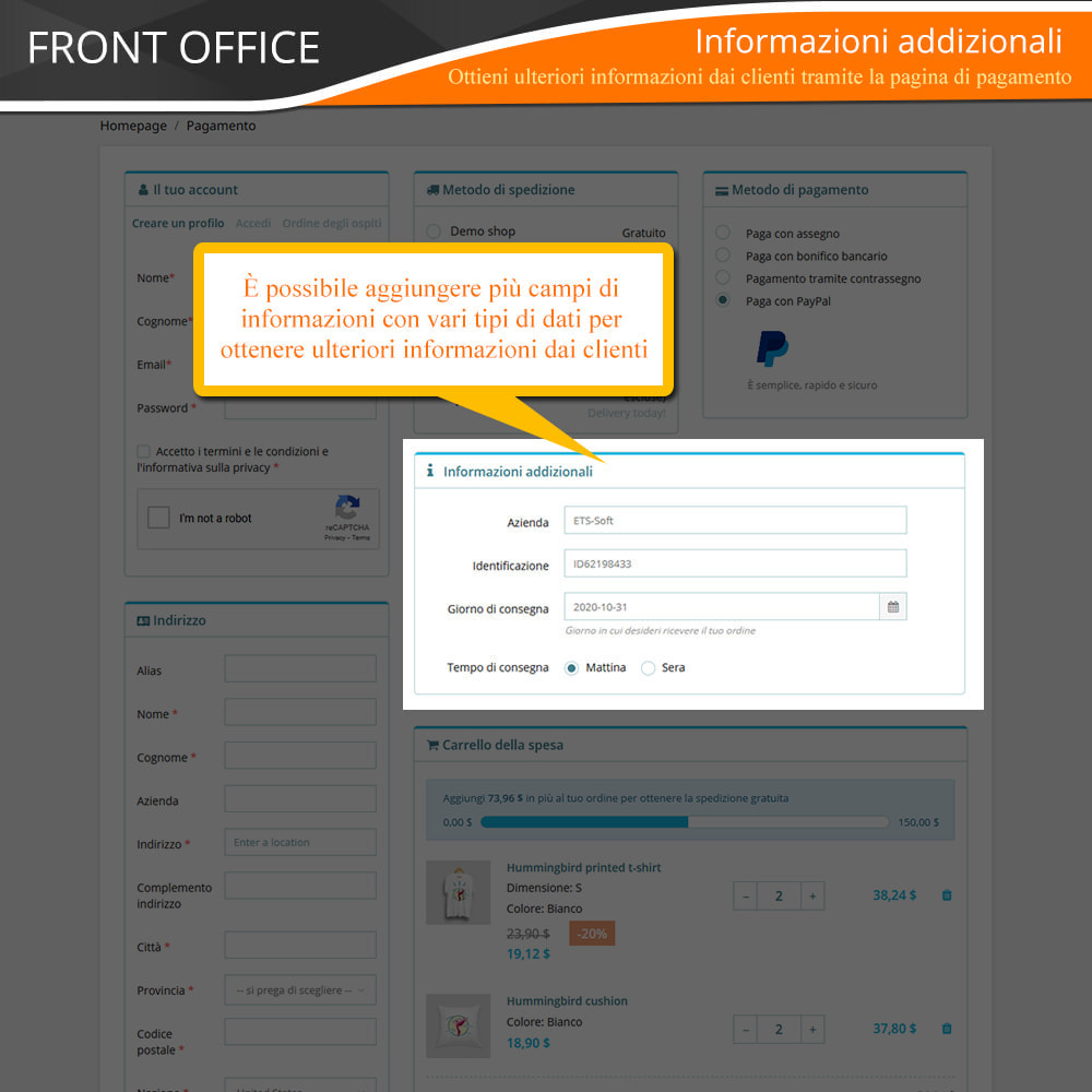 module - Express Checkout - ONE PAGE CHECKOUT - Veloce, Intuitivo & Professionale - 10