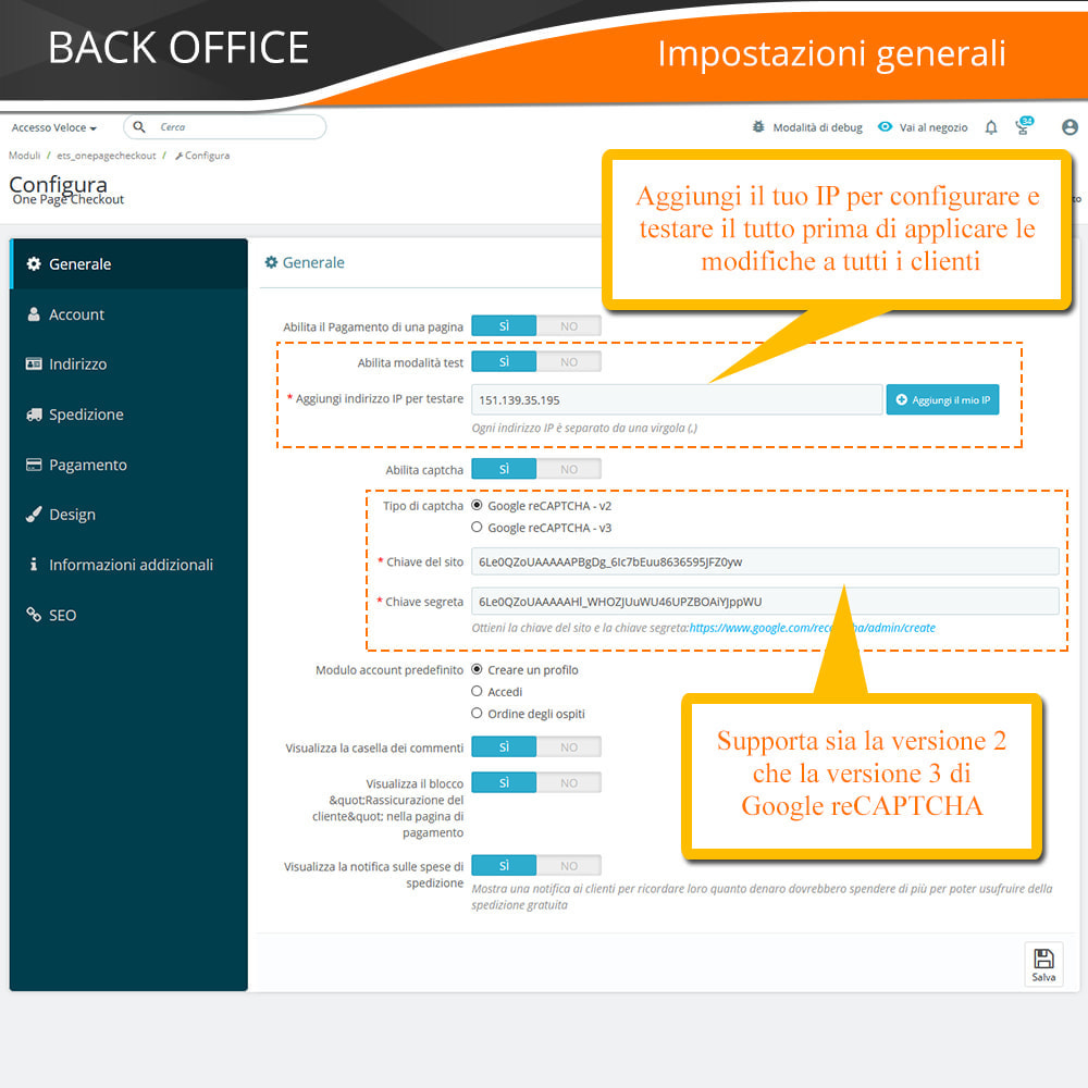 module - Express Checkout - ONE PAGE CHECKOUT - Veloce, Intuitivo & Professionale - 12