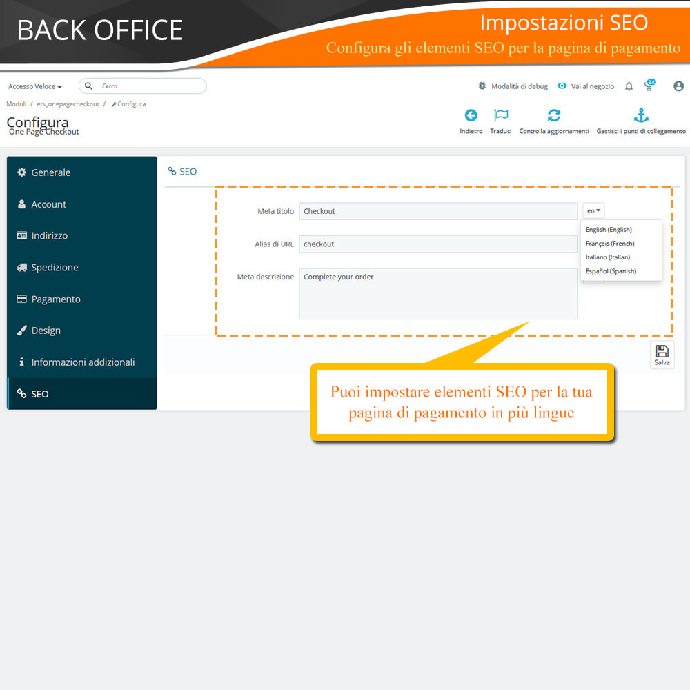 module - Express Checkout - ONE PAGE CHECKOUT - Veloce, Intuitivo & Professionale - 18