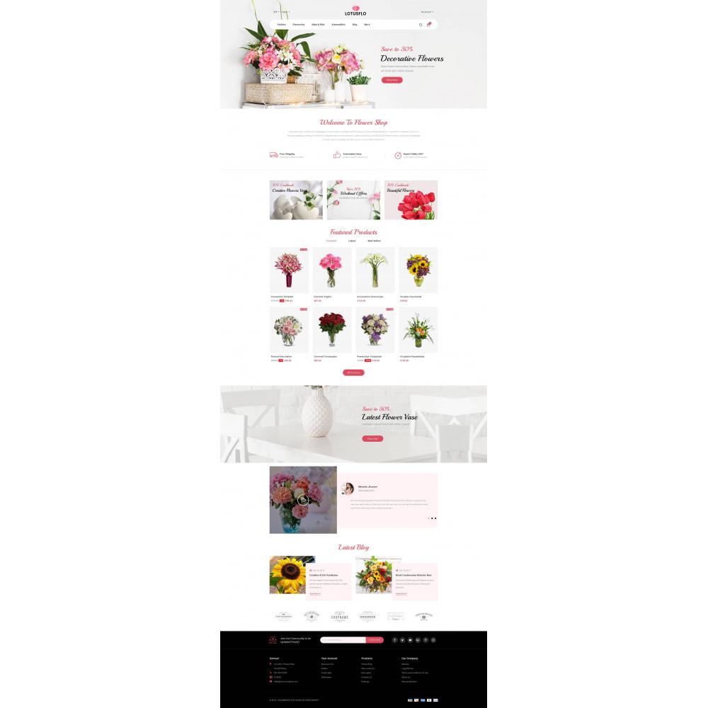 theme - Подарки, Цветы и праздничные товары - Lotusflow - Flowers Shop - 2