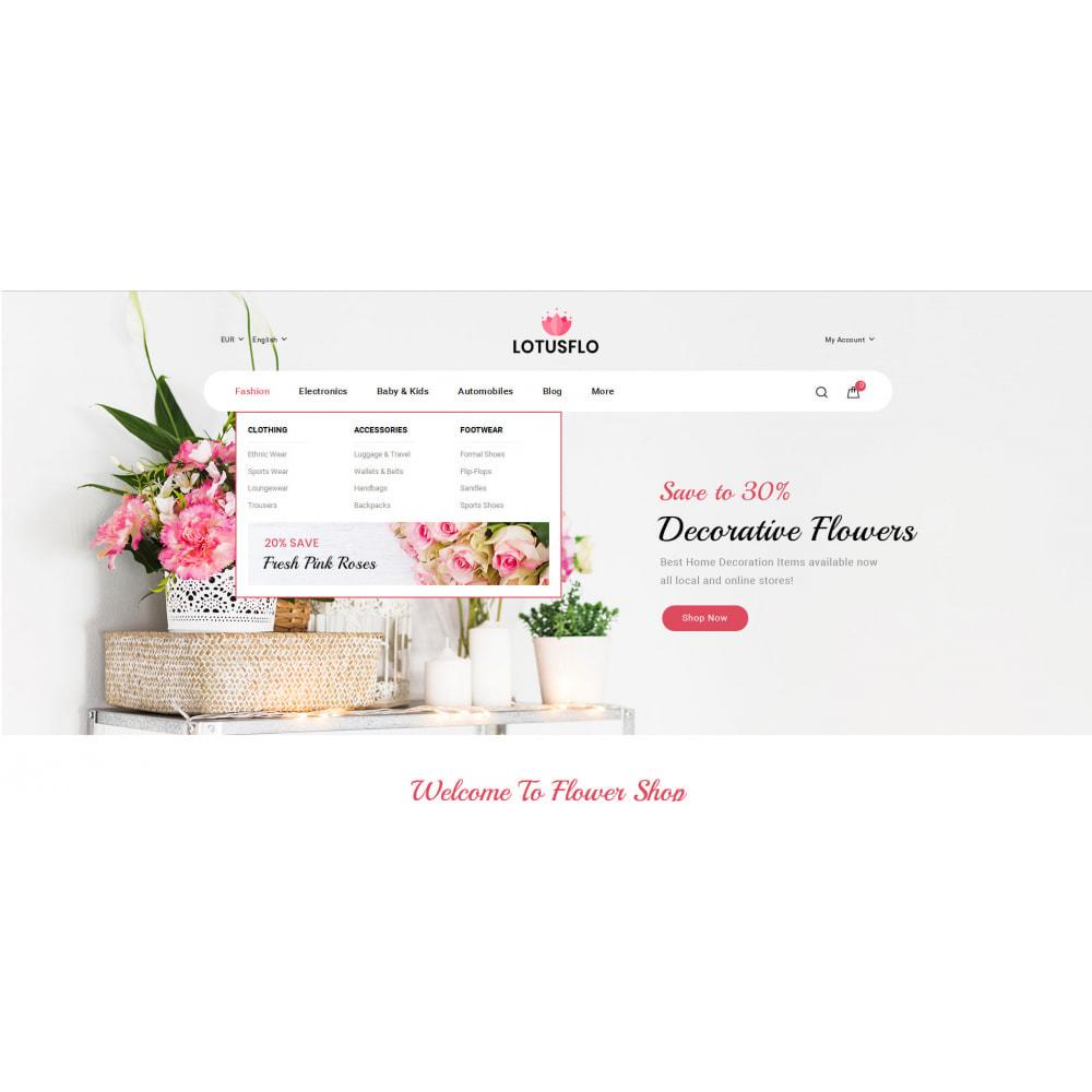 theme - Подарки, Цветы и праздничные товары - Lotusflow - Flowers Shop - 6