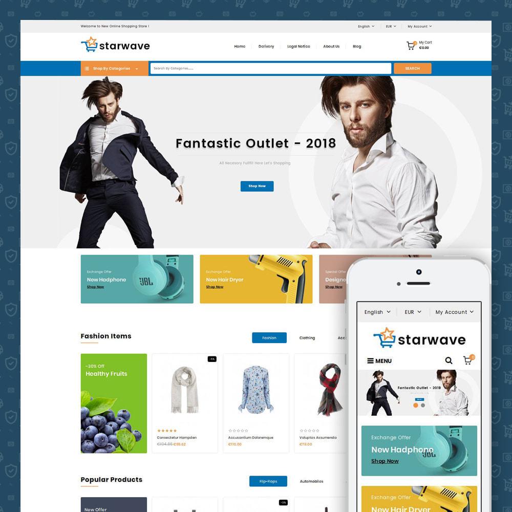 theme - Fashion & Shoes - Starwave - Multipurpose Store - 1